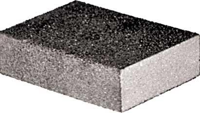 Губка шлифовальная FIT, алюминий-оксидная. P120