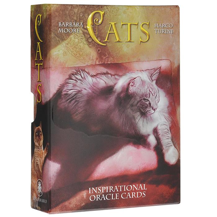 Оракул Lo Scarabeo Оракул Кошек, 32 карты, инструкция на русском языке. OR05OR05Оракул кошек состоит из 32 карт с красочными иллюстрациями кошек, названием и нумерацией карты. На всех картах изображены кошки разных пород. Моментальные снимки - картинки кошачьей мудрости: девять жизней для озорства, лени, моментов счастья. Каждый кадр научит на сполна проживать наш день. На этих картах мы видим настоящих кошек, занятых обычными кошачьими делами. Но в их природных проявлениях и повадках мы найдем для себя совет и указание. Мы также узнаем кое-что о различных породах красивых кошек и вместе с тем получим представление о кошачьих привычках. В комплекте - подробная инструкция на русском языке с описанием значений карт и примером расклада.