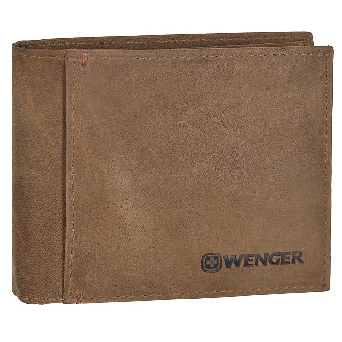 Портмоне Wenger, цвет: коричневый. WEW001.70WEW001.70Портмоне Wenger выполнено из натуральной кожи коричневого цвета. Внутри находятся два отделения для купюр, три отделения для кредитных карт, визиток и прочих мелких бумаг, три потайных кармана внутри и один на лицевой стороне. Это классическое портмоне непременно подойдет к вашему образу и порадует простотой и стилем. Портмоне упаковано в коробку из плотного картона с логотипом фирмы. По всем вопросам гарантийного и постгарантийного обслуживания рюкзаков, чемоданов, спортивных и кожаных сумок, а также портмоне марок Wenger и SwissGear вы можете обратиться в сервис-центр, расположенный по адресу: г. Москва, Саввинская набережная, д.3. Тел: (495) 788-39-96, (499) 248-56-56, ежедневно с 9:00 до 21:00. Подробные условия гарантийного обслуживания приведены в гарантийном талоне, поставляемым в комплекте с каждым изделием. Бесплатный ремонт изделий производится при условии предоставления гарантийного талона и товарного/кассового чека, подтверждающего дату покупки....