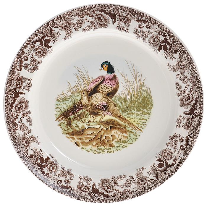 Тарелка десертная Lillo, диаметр 22 см. 213460213460Десертная тарелка Lillo выполнена из высококачественой керамики. Тарелка кремового цвета оформлена коричневой цветочной каймой и украшена рисунком павлинов. Тарелка сочетает в себе изысканный дизайн с максимальной функциональностью. Красочность оформления придется по вкусу и ценителям классики, и тем, кто предпочитает утонченность и изысканность. Характеристики: Материал: керамика. Цвет: кремовый. Диаметр тарелки: 22 см. Высота тарелки: 2 см. Размеры упаковки: 3 см х 22,5 см х 22,5 см. Артикул: 213460.