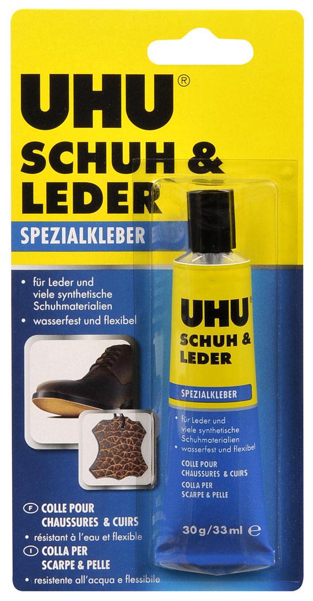 """Клей UHU """"Schuh & Leder"""" для кожи и обуви, 33 мл 46680"""
