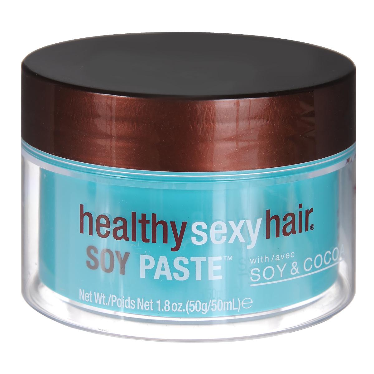 Sexy Hair Крем для моделирования волос Healthy, текстурирующий, помадообразный, 50 гЗД2Крем для волос Sexy Hair Healthy с аминокислотами пшеницы восстанавливает волосы, а уникальная смесь сои и природных компонентов укрепляют и увлажняют их в течение всего дня. Легкий крем для моделирования на основе сои. Делает волосы управляемыми и гибкими, позволяет разделять пряди и поддерживать форму укладки. Средство делает пряди эластичными и послушными, что позволяет менять укладку в течение дня без применения дополнительных средств. Легко смывается.