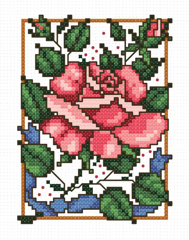 Набор для вышивания крестом Маленькая роза, 18 см х 21 см742-14 Маленькая розаВ наборе для вышивания крестом «Маленькая роза» есть все необходимое для создания собственного чуда: обработанная канва Аида 14 белого цвета, хлопковые нити мулине, цветная символьная схема, 2 иглы, инструкция по вышиванию на русском языке. Необычайной красоты рисунок-вышивка с красочным изображением изумительной розы привлечет к себе внимание и будет потрясающе смотреться в интерьере вашего помещения. Вышивание крестом отвлечет вас от повседневных забот и превратится в увлекательное занятие! Работа, сделанная своими руками, создаст особый уют и атмосферу в доме, и долгие годы будет радовать вас и ваших близких.