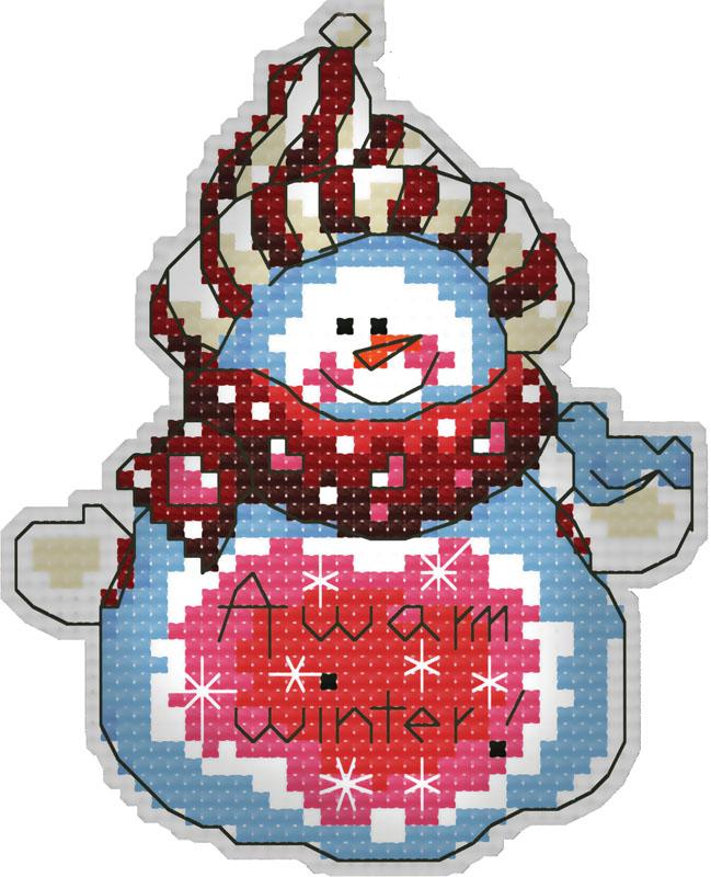 Набор для вышивания брелка Снеговик, 8 смБрелок 6053 СнеговикВ наборе для вышивания брелка «Снеговик» есть все необходимое для создания приятного сувенира своими руками: пластиковая канва 18СТ белого цвета, органайзер и нитки мулине для вышивания, цветная символьная схема, 2 иглы, держатель, наполнитель, инструкция по вышиванию на русском языке. Создайте своими руками брелок для ключей в виде снеговика. Забавный аксессуар может стать прекрасным маленьким подарком для близкого человека. Вышивание крестом отвлечет вас от повседневных забот и превратится в увлекательное занятие! Работа, сделанная своими руками, создаст особый уют и атмосферу в доме, и долгие годы будет радовать вас и ваших близких.