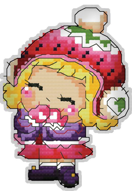Набор для вышивания брелка Девочка, 8 смБрелок 6054 ДевочкаВ наборе для вышивания брелка «Девочка» есть все необходимое для создания приятного сувенира своими руками: пластиковая канва 18СТ белого цвета, органайзер и нитки мулине для вышивания, цветная символьная схема, 2 иглы, держатель, наполнитель, инструкция по вышиванию на русском языке. Создайте своими руками брелок для ключей в виде маленькой девочки. Забавный аксессуар может стать прекрасным маленьким подарком для близкого человека. Вышивание крестом отвлечет вас от повседневных забот и превратится в увлекательное занятие! Работа, сделанная своими руками, создаст особый уют и атмосферу в доме, и долгие годы будет радовать вас и ваших близких.