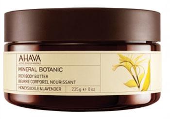 Ahava Крем-масло для тела Жимолость и лаванда, питательное, 235 г ahava набор duo deadsea mud набор дуэт