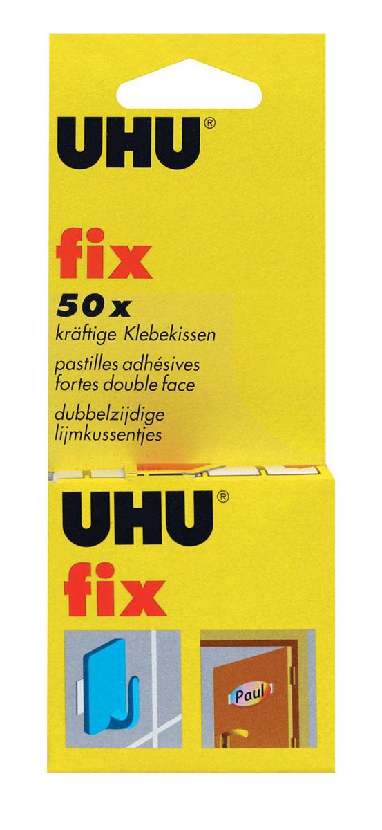 "Клеевые подушечки UHU ""Fix"", двухсторонние, 50 шт"