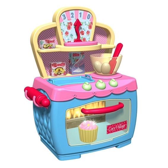 Игровой набор Волшебная электронная печка, 12 предметов1680379.00Игровой набор Волшебная электронная печка привлечет внимание вашей маленькой хозяйки и не позволит ей скучать. Набор включает в себя духовой шкаф с крутящимися регуляторами температуры, пирожное, кекс, булочку, миску, скалку, лопатку, два яйца и другие продукты. Сверху над печкой расположены полочки, противень и весы для взвешивания продуктов. Эта печка подарит вашей малышке настоящие моменты волшебства! Представьте, вы ставите в духовку пирожное, а оно поднимается, как на дрожжах. Кладете туда кекс, и он начинает мигать огоньками. А булочка из белой становится золотистой! Элементы набора выполнены из прочного пластика и абсолютно безопасны для ребенка. С таким набором куколки вашей хозяюшки всегда будут сытыми! Характеристики: Материал: пластик, картон. Размер печки: 31 см x 25 см x 47 см. Размер упаковки: 30,5 см x 17,5 см x 35,5 см. Изготовитель: Китай. Необходимо докупить 3 батареи напряжением 1,5V...