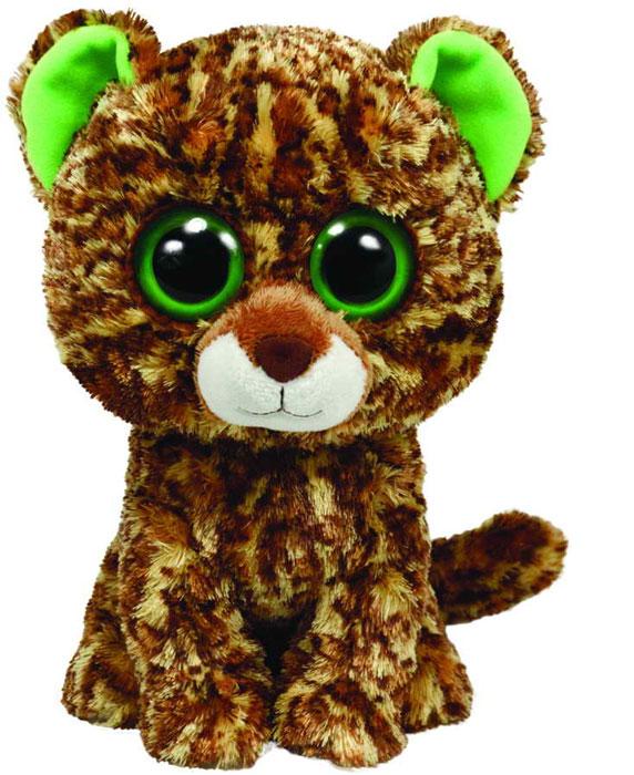 Мягкая игрушка Beanie Boos Тигренок Speckles, 23 см36967Очаровательная мягкая игрушка Тигренок Speckles, выполненная в виде милого тигренка с большими глазками, вызовет умиление и улыбку у каждого, кто ее увидит. Она станет замечательным подарком, как ребенку, так и взрослому. Удивительно мягкая игрушка принесет радость и подарит своему обладателю мгновения нежных объятий и приятных воспоминаний. Специальные гранулы, используемые при ее набивке, способствуют развитию мелкой моторики рук малыша. Великолепное качество исполнения делают эту игрушку чудесным подарком к любому празднику.