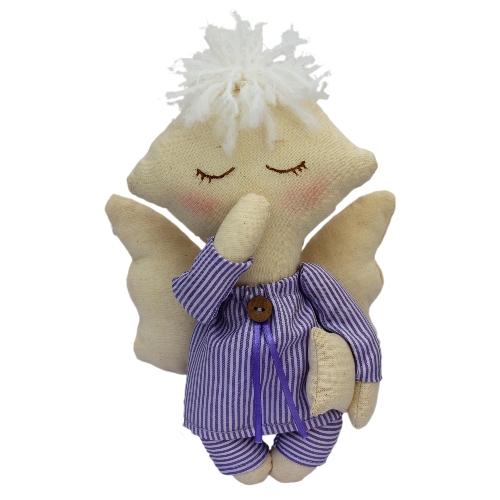 Набор для изготовления текстильной игрушки Сева, высота 22 смAM100012В наборе для изготовления текстильной игрушки Сева есть все необходимое для создания куклы в стиле Tilda: ткань для тела игрушки (100% хлопок), ткань для одежды (100% хлопок), декоративные элементы, пуговицы, нитки для волос, ленточки, кружево, украшения, инструмент для набивки игрушки, выкройка, инструкция на русском языке. Вам потребуется: суперпух для набивки, нитки, иголка. По желанию, вы можете использовать акриловые краски для прорисовки лица игрушки, кофе растворимый, клей ПВА (для тонирования игрушки). Текстильные куклы популярны во всем мире - их коллекционируют, украшают ими дом. Интерьерная кукла или просто забавная примитивная игрушка ручной работы может стать украшением дома и оригинальным подарком, который несет в себе любовь и тепло человеческих рук. Эти куклы могут быть абсолютно разными, но все они очень нежные и уютные! Это не только увлекательное занятие, как для взрослых, так и для детей, но и возможность самовыражения, отдых и милые воспоминания о...
