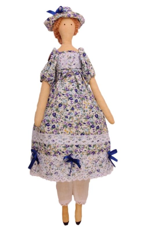 Набор для изготовления текстильной игрушки Софья, высота 42 смAM100018В наборе для изготовления текстильной игрушки Софья есть все необходимое для создания куклы в стиле Tilda: ткань для тела игрушки (100% хлопок), ткань для одежды (100% хлопок), декоративные элементы, пуговицы, нитки для волос, ленточки, кружево, украшения, инструмент для набивки игрушки, выкройка, инструкция на русском языке. Вам потребуется: суперпух для набивки, нитки, иголка. По желанию, вы можете использовать акриловые краски для прорисовки лица игрушки, кофе растворимый, клей ПВА (для тонирования игрушки). Текстильные куклы популярны во всем мире - их коллекционируют, украшают ими дом. Интерьерная кукла или просто забавная примитивная игрушка ручной работы может стать украшением дома и оригинальным подарком, который несет в себе любовь и тепло человеческих рук. Эти куклы могут быть абсолютно разными, но все они очень нежные и уютные! Это не только увлекательное занятие, как для взрослых, так и для детей, но и возможность самовыражения, отдых и милые воспоминания...