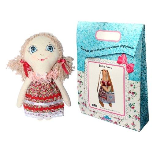 Подарочный набор для изготовления текстильной игрушки Анечка, 22 см мягкая игрушка chicco волшебные мелодии принцесс disney белоснежка кукла разноцветный текстиль 35 см