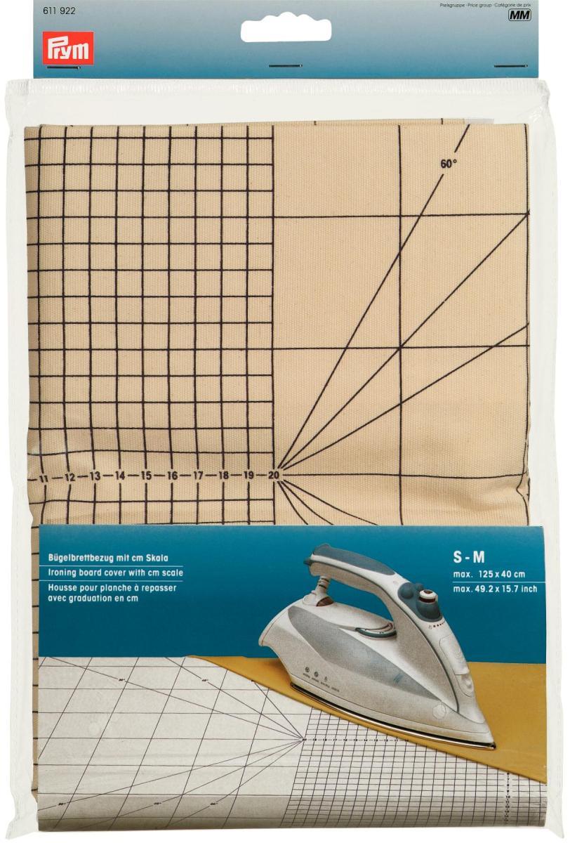 Чехол для гладильной доски Prym с сантиметровой шкалой, размер S-M611922Чехол для гладильной доски Prym изготовлен из хлопка. Имеется специальная сантиметровая шкала. Является профессиональной подложкой для утюжки при рукоделии и особенно при шитье. Характеристики: Материал:хлопок. Размер: 125 см х 40 см Производитель: Германия. Артикул: 263431.