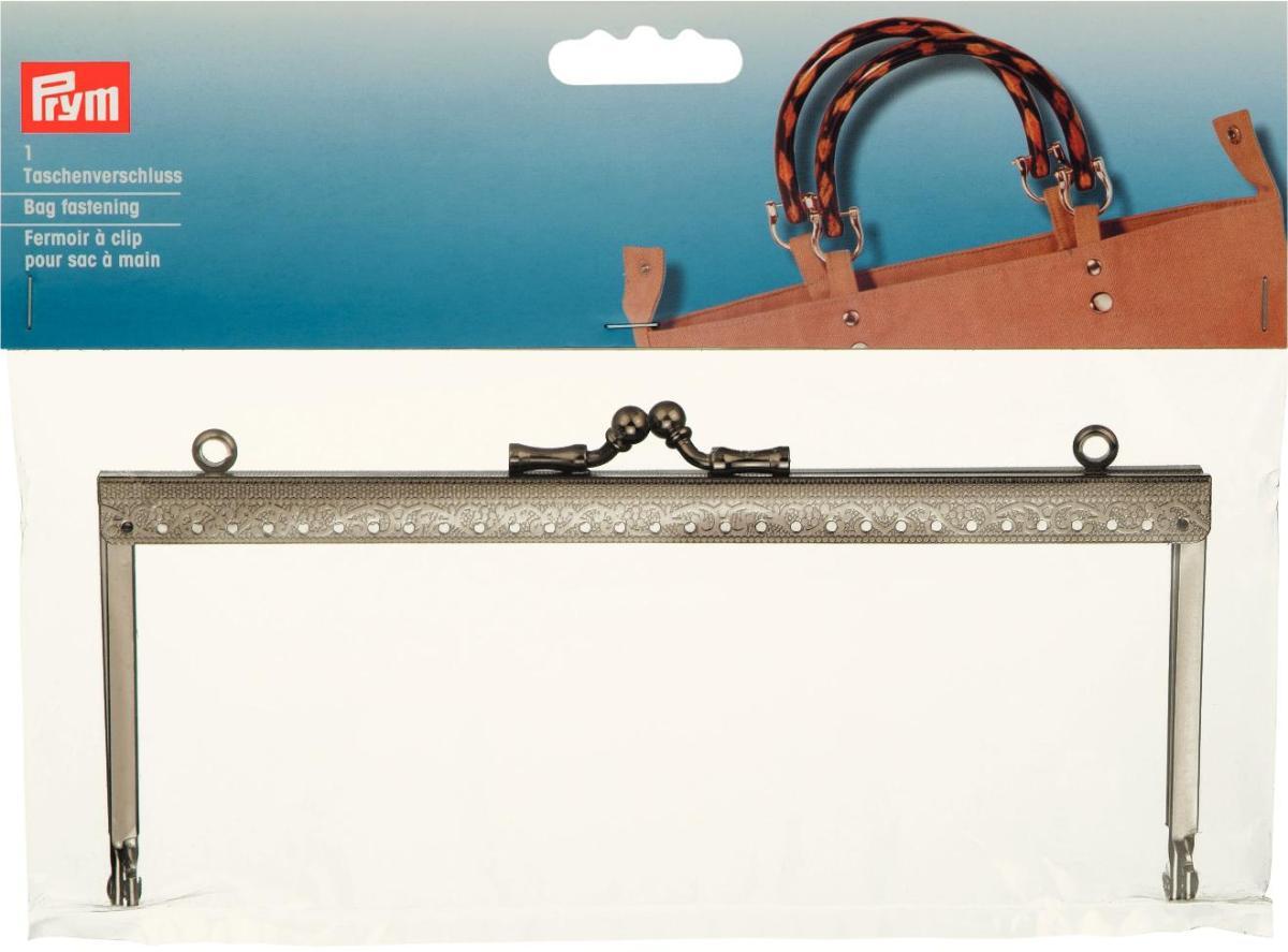 Застежка-фермуар Маша, цвет: темное серебро, 19 х 8 х 1,2 см615169Застежка-фермуар Маша, изготовленная из металла, прямоугольной формы предназначена для пришивания к сумке, кошельку, очечнику или косметички. Застежка оснащена креплениями для ручек. Если Вы решили сшить, связать или свалять себе сумочку, обратите внимание на этот замок, он будет прекрасным и удобным завершением Вашего шедевра. Фермуар (fermuar - франц.) является оформлением, рамкой-застежкой сумочки, сделанной своими руками. Именно фермуары придают сумочке вид настоящего функционального изделия. Фермуары - это не просто застежки, это стильный и необходимый элемент декора сумочки; это элегантное и изысканное украшение сумочек, кошельков, косметичек.
