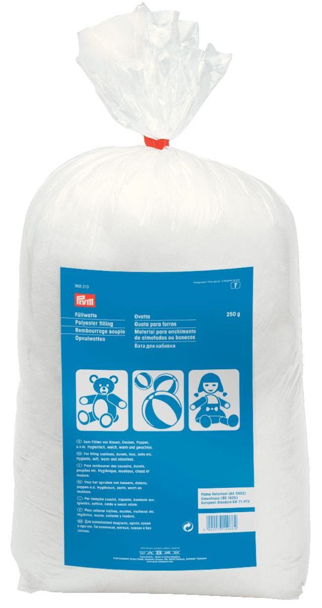 Наполнитель для набивки, Prym. цвет: белый, 250 г968210Наполнитель Prym предназначен для наполнения подушек, одеял, кукол, игрушек и прочего. Гигиеничен, мягок, прочен и без запаха.