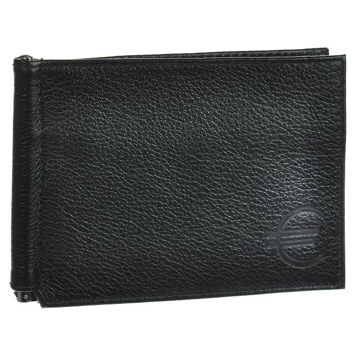 Зажим для купюр Askent, цвет: черный. Z.9.-9Z.9.-9. черныйЗажим для купюр Askent, выполнен из натуральной кожи черного цвета. На внутреннем развороте: металлическая фурнитура для купюр на пружине, три кармана для кредитных карт, дополнительный глубокий карман. На внешней стороне карман для мелочи, закрывающийся на молнию. Такой зажим станет отличным подарком для человека, ценящего качественные и красивые вещи. Характеристики: Цвет: черный. Материал: натуральная кожа, металл. Размер: 11,5 см x 8,5 см. Размер упаковки: 10,5 см x 14,5 см x 1 см. Артикул: Z.9.-9.