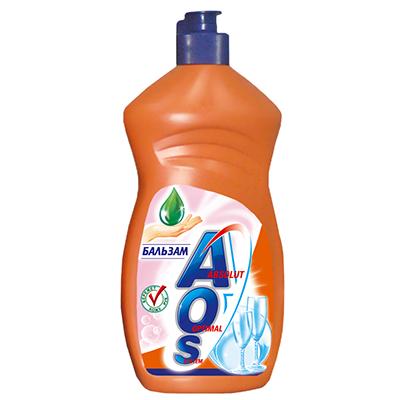 Жидкость для мытья посуды AOS Бальзам, 500 мл391-3Жидкость для мытья посуды AOS Бальзам не только эффективно удаляет любые загрязнения даже в холодной воде, но и бережно воздействует на кожу рук. Благодаря новой сбалансированной формуле средство отлично пенится, придает посуде кристальный блеск, после ополаскивания не оставляет разводов. Характеристики: Объем: 500 мл. Артикул: 391-3. Товар сертифицирован.