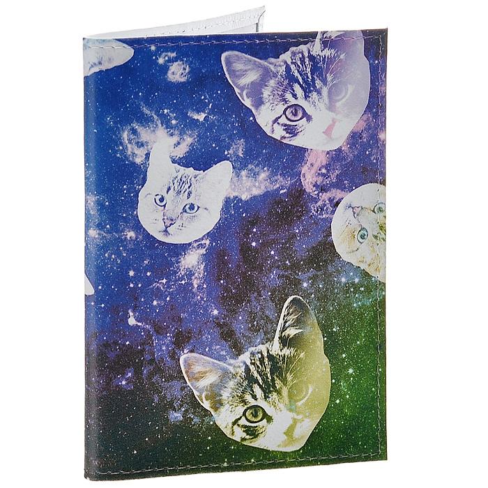 Обложка для паспорта Сны о кошках . OK195OK195Обложка для паспорта Mitya Veselkov, выполненная из натуральной кожи, оформлена изображением кошачьих мордочек на фоне звездного неба. Такая обложка не только поможет сохранить внешний вид ваших документов и защитит их от повреждений, но и станет стильным аксессуаром, идеально подходящим вашему образу. Яркая и оригинальная обложка подчеркнет вашу индивидуальность и изысканный вкус. Обложка для паспорта стильного дизайна может быть достойным и оригинальным подарком. Характеристики: Материал: натуральная кожа, пластик. Размер (в сложенном виде): 9,5 см х 13,5 см. Артикул: OK195.