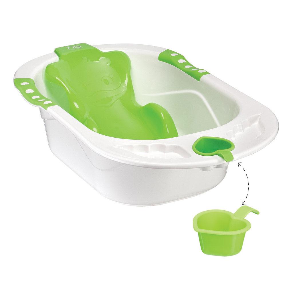 Детская ванна Happy Baby, цвет: зеленый