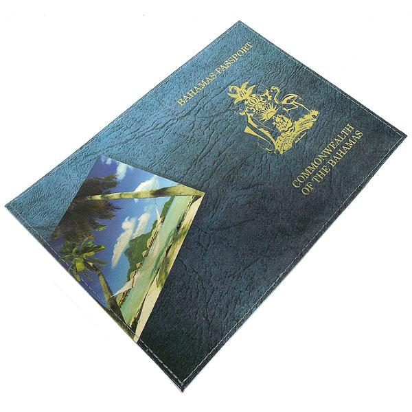 Обложка для паспорта Багамы. 9419594195Оригинальная обложка не только поможет сохранить внешний вид ваших документов и защитит их от повреждений, но и станет стильным аксессуаром, идеально подходящим вашему образу. Обложка для паспорта выполнена из натуральной кожи и оформлена изображением Багам и надписью Bahamas Passport. Commonwealth Of The Bahamas. Яркая и оригинальная обложка подчеркнет вашу индивидуальность и изысканный вкус.