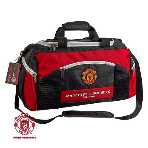"""Сумка спортивная """"Манчестер Юнайтед"""", цвет: красно-черный"""