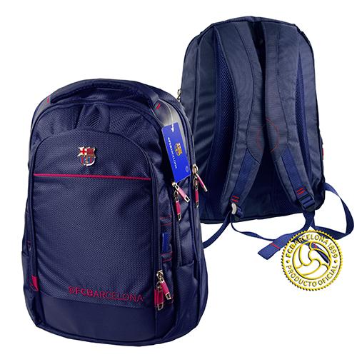 Рюкзак спортивный ФК Барселона, цвет: синий. 184121