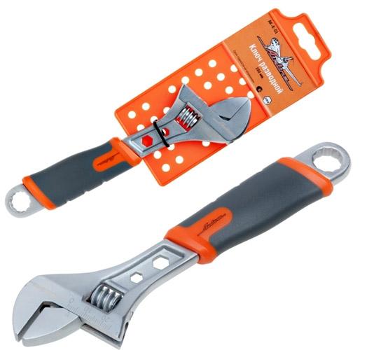 Ключ разводной Airline, 20 см, 0-25 ммAK-R-01Ключ разводной Airline предназначен для отвинчивания и завинчивания гаек, болтов, винтов и других резьбовых соединений, при выполнении различных слесарно-монтажных работ. Ключ снабжен мерной шкалой.