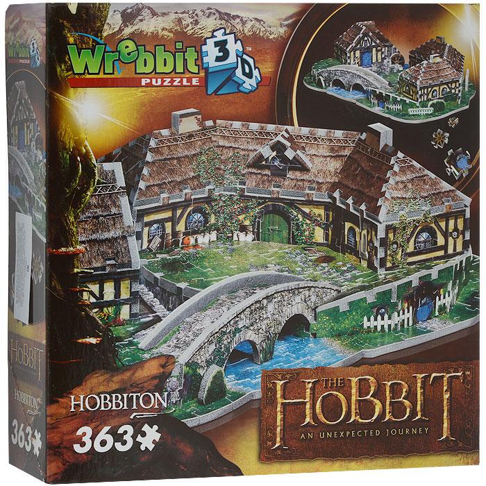 Хоббитон. Пазл 3D, 363 элементаW3D-1002Объемный 3D-пазл Хоббитон - это прекрасный способ провести время увлекательно и с пользой. Ребенок с радостью будет собирать объемный пазл Хоббитон, состоящий из 363 элементов. Пазл собирается по инструкции. Порадуйте своего ребенка таким великолепным объемным пазлом. Пазл - великолепная игра для семейного досуга. Сегодня собирание пазлов стало особенно популярным, главным образом, благодаря своей многообразной тематике, способной удовлетворить самый взыскательный вкус. А для детей это не только интересно, но и полезно. Собирание пазлов развивает мелкую моторику у ребенка, тренирует наблюдательность, логическое мышление, знакомит с окружающим миром, с цветом и разнообразными формами.