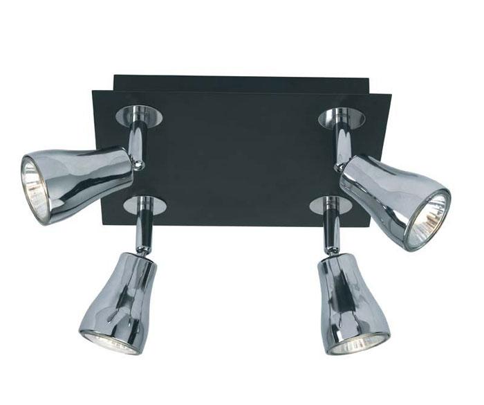 Светильник потолочный Markslojd Blank. 414423414423Потолочный светильник Markslojd Blank отлично впишется в интерьер Вашего дома. Он хорошо смотрится как в классическом, так и в современном помещении, на штукатурке, дереве или обоях любой расцветки. Для безопасной и надежной коммутации светильника в сеть на корпусе светильника установлена клеммная колодка. Светильник дает яркий ровный сфокусированный световой поток в выбранном направлении. Светильники и люстры - предметы, без которых мы не представляем себе комфортной жизни. Сегодня функции люстры не ограничиваются освещением помещения. Она также является центральной фигурой интерьера, подчеркивает общий стиль помещения, создает уют и дарит эстетическое удовольствие. Характеристики: Материал: металл, стекло. Размер светильника: 15 см х 22 см х 22 см. Количество лампочек: 4 (входят в комплект). Размер упаковки: 10 см х 23 см х 23 см.