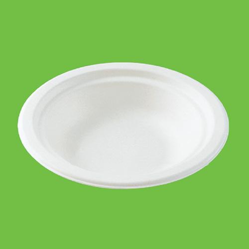 "Набор суповых тарелок ""Gracs"", биоразлагаемых, цвет: белый, 400 мл, 10 шт"
