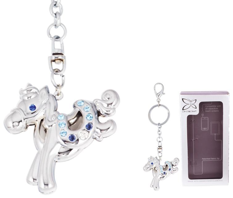 Брелок Crystocraft Лошадка, цвет: серебристый. U0401-161-CBLAU0401-161-CBLAБрелок Crystocraft выполнен из стали серебристого цвета и оформлен подвеской в виде лошадки, инкрустированной синими, голубыми и белыми кристаллами. Кристаллы, украшающие брелок, носят громкое имя Swarovski. Ограненные, как бриллианты, кристаллы блистают сотнями тысяч различных оттенков. Стильный брелок Crystocraft Лошадка - великолепный аксессуар и милая вещица, которая ни оставит равнодушной ни одну девушку. Брелок упакован в подарочную коробку. Характеристики: Материал: сталь, австрийские кристаллы. Размер подвески: 4,5 см х 5 см. Общая высота брелока (с кольцом): 11,5 см. Размер упаковки: 7,5 см х 14 см х 2,5 см. Артикул: U0401-161-CBLA. Более чем 30 лет назад компания Crystocraft выросла из ведущего производителя в перспективную торговую марку, которая задает тенденцию благодаря безупречному чувству красоты и стиля. Компания создает изящные, качественные, яркие сувениры, декорированные кристаллами Swarovski...