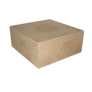 Шкатулка рукодельницы Кустар, 22,5 см х 22,5 см х 9 см