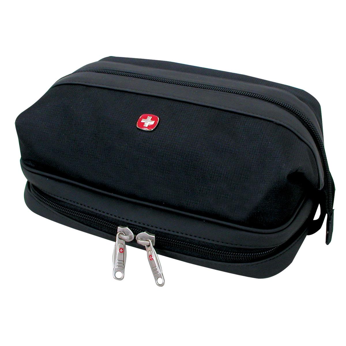 Сумка дорожная Wenger Deluxe Toiletry Kit, цвет: черный