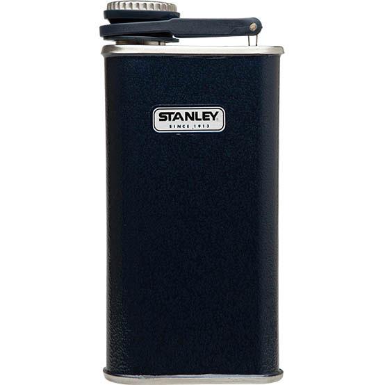 Фляга STANLEY Classic Pocket Flask, цвет: темно-синий, 0,23 л10-00837-081Фляжка карманная STANLEY Classic Pocket Flask изготовлена из нержавеющей стали, наружное покрытие из абразивостойкой эмали. Фляга герметична. Имеет пожизненную гарантию.