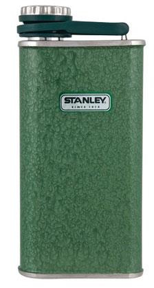 Фляга STANLEY Classic Pocket Flask, цвет: темно-зеленый, 0,23 л10-00837-051Фляжка карманная STANLEY Classic Pocket Flask изготовлена из нержавеющей стали, наружное покрытие из абразивостойкой эмали. Фляга герметична. Имеет пожизненную гарантию.