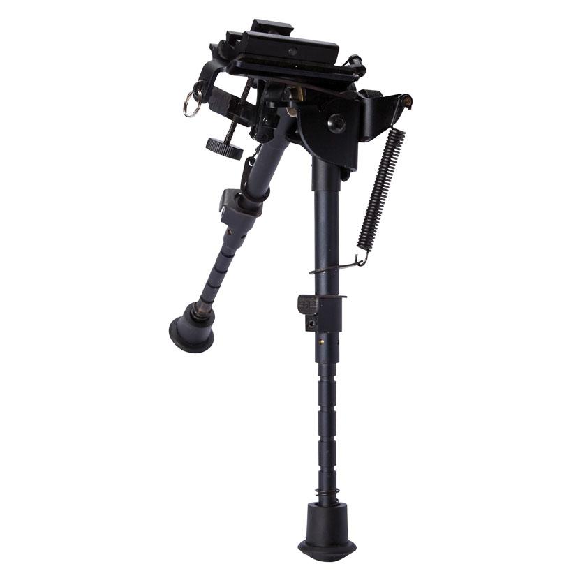 ASG сошки универсальные на RIS (17424)17424Сошки с креплением на антабку с RIS адаптером для пневматических и страйкбольных винтовок и карабинов. Специальный зажим подходит для большинства снайперских винтовок. 6 фиксированных положений для регулировки по высоте. В комплекте с креплением R.I.S. для установки на планки 21 мм. Подходит для M70, AW.308, AW.338 и любых винтовок с планкой 21 мм. Не предназначены для использования на боевом оружии. Уважаемые покупатели, при использовании пневматики соблюдайте технику безопасности: храните в разряженном состоянии в местах недоступных для детей, не направляйте на людей и животных, при стрельбе следите, чтобы в районе мишени не было людей, всегда используйте защитные очки и экипировку, перевозите пневматику в чехлах и сумках, не носите открыто в общественных местах! Перед использованием прочтите инструкцию! Грамотное обращение с пневматикой - залог Вашего приятного отдыха! Уважаемые покупатели, обращаем Ваше внимание, что авиадоставка в...