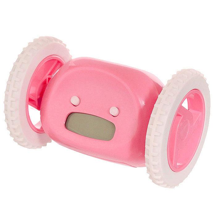 Часы-будильник Инопланетянин, цвет: розовый. 9348493484Часы Инопланетянин созданы для тех, кому сложно просыпаться по утрам. На корпусе часов расположены маленькие глазки-кнопки, они предназначены для программирования будильника. Установите будильник на необходимое время и оно отобразится на жидкокристаллическом экране-ротике. А утром маленький инопланетянин, крутя колесами, укатится со своего обычного места, вовсю сигналя о подъеме. Пока соня не поймает сбежавший будильник и не выключит кнопку, находящуюся на нем, инопланетный друг не успокоится, издавая громкие, но мелодичные звуки. С таким будильником опоздания в школу или на работу исключены! Характеристики: Материал: пластик. Размер будильника: 13,5 см х 9 см х 9 см. Размер упаковки: 16,5 см х 10,5 см х 11,5 см. Артикул: 93484. Необходимо докупить 4 батарейки ААА (не входят в комплект).