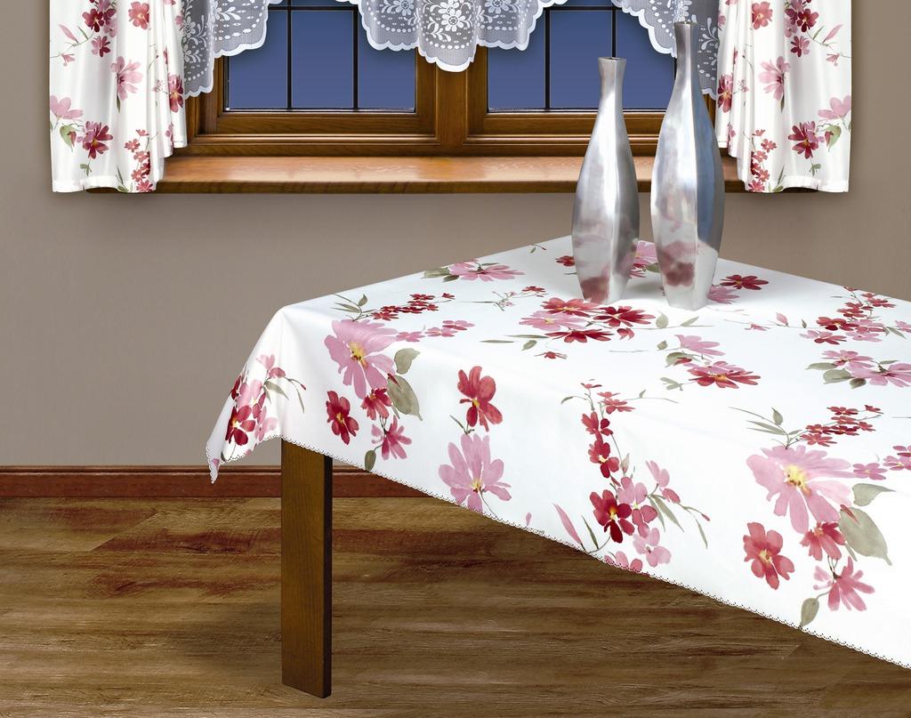 Скатерть Haft, прямоугольная, цвет: белый, розовый, 160 x 120 см201300/160 белыйВеликолепная прямоугольная скатерть Haft, выполненная из полиэстера, с цветочным рисунком розового цвета органично впишется в интерьер любого помещения, а оригинальный дизайн удовлетворит даже самый изысканный вкус. Ажурный край скатерти придает ей оригинальность и своеобразие. В современном мире кухня - это не просто помещение для приготовления и приема пищи; это особое место, где собирается вся семья и царит душевная атмосфера. Кухня - душа вашего дома, поэтому важно создать в ней атмосферу уюта. Характеристики: Материал: 100% полиэстер. Размер: 160 см х 120 см. Цвет: белый, розовый. Производитель: Польша. Артикул: 201300/160.