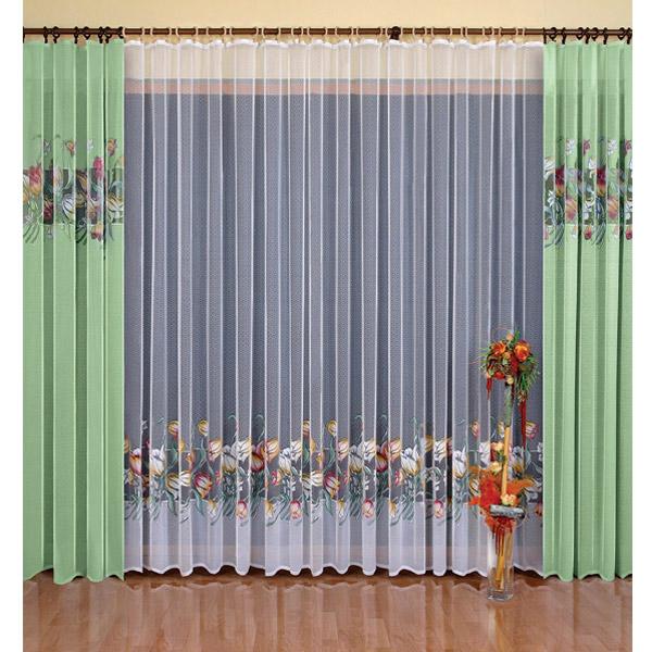 Комплект штор Wisan Gustawa, на ленте, цвет: зеленый, высота 250 см3104 зеленыйРоскошный комплект штор Wisan Gustawa, выполненный из полиэстера, великолепно украсит любое окно. Комплект состоит из двух штор и тюля. Шторы выполнены из легкой полупрозрачной ткани зеленого цвета и декорированы ажурными вставками с цветочным рисунком. Белый полупрозрачный тюль декорирован по низу цветным цветочным рисунком. Нежная воздушная текстура, оригинальный дизайн и нежная цветовая гамма привлекут к себе внимание и органично впишутся в интерьер комнаты. Все предметы комплекта - на шторной ленте для собирания в сборки. Характеристики: Материал: 100% полиэстер. Цвет: зеленый. Размер упаковки: 40 см х 30 см х 7 см. Артикул: 3104. В комплект входят: Штора - 2 шт. Размер (Ш х В): 150 см х 250 см. Тюль - 1 шт. Размер (Ш х В): 600 см х 250 см. Фирма Wisan на польском рынке существует уже более пятидесяти лет и является одной из лучших польских фабрик по производству штор и тканей. Ассортимент фирмы представлен...