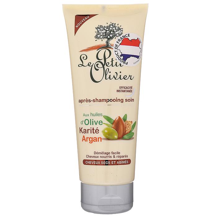 Le Petit Olivier Кондиционер, для сухих и поврежденных волос, 200 мл388093Кремообразный кондиционер Le Petit Olivier, насыщенный натуральными маслами, обладает оживляющим и восстанавливающим действием. Уникальная формула восстанавливающего кондиционера содержит масло аргана, богатое витамином Е, омега-6 и фитостеролами. Волосы становятся более плотными и эластичными, приобретают здоровый блеск. Использование кондиционера препятствует выпадению и преждевременному старению волос, оздоравливает волосяную луковицу и кожу головы. Масло ши, проникая в самую структуру волоса, обеспечивает глубокое питание, восстановление, защиту и рост волос, обладает природным УФ-фильтром. Масло оливы содержит целый комплекс витаминов и аминокислот, обеспечивающих регенерирующее действие. Содержащиеся в кондиционере масла максимально прикрывают кутикулу волоса, облегчает расчесывание, усиливает блеск, добавляет шелковистость, мягкость вашим волосам, защищает от УФ-лучей. Не содержит парабены, феноксиэтанол, красители.