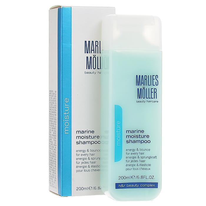 Marlies Moller Шампунь Moisture, увлажняющий, 200 мл21067MMsБережно очищает волосы и кожу головы. Обеспечивает волосам увлажнение без утяжеления и комфорт для кожи головы. Придает мгновенную эластичность и энергию. Укрепляет волосы от корней до кончиков для более здорового блеска и бесподобного сияния. Премиальный уход с профессиональным эффектом. Высокая концентрация активных компонентов. Мягкое средство без силиконов, позволяет частое применение. В зависимости от длины волос возьмите небольшое количество шампуня (размером с 1-2 лесных ореха) и вспеньте его в ладонях. Легкими круговыми массажными движениями нанесите шампунь, расположив одну руку спереди, другую - на затылке. Повторите массажные движения столько раз, сколько Вам нравится. Тщательно ополосните голову.