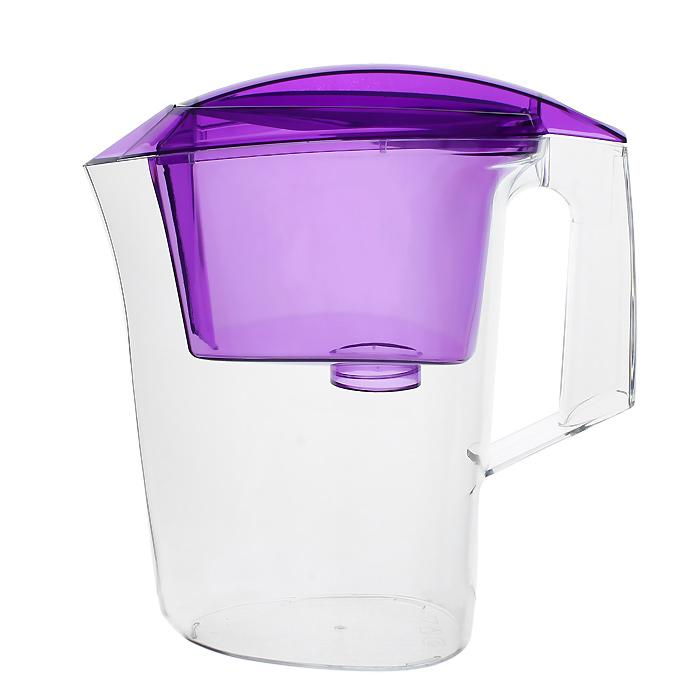 Фильтр-кувшин Гейзер Дельфин, цвет: фиолетовый62035 фиолетовыйФильтр-кувшин Гейзер Дельфин. Предназначен для очистки холодной водопроводной, скважинной и колодезной воды от ржавчины, растворенного железа, тяжелых металлов, хлора, органических соединений и других примесей. Улучшает вкус и цвет воды, а также устраняет неприятные запахи. Эффективность очистки воды от основных примесей в зависимости от качества исходной воды составляет до 100 %. Не рекомендуется использовать фильтр-кувшин для очистки воды спревышением норм ПДК (предельно допусти¬мая концентрация) более чем в 3 раза. Преимущества Фильтра-кувшина Гейзер Дельфин: - Картридж с материалом Каталон (100% защита от вирусов). - Компактный размер. - Эргономичный дизайн. - Современный пищевой пластик. - Герметичная крышка. В комплекте картридж Гейзер 301. Ресурс 200 литров. Дополнительная информация: Общий объем кувшина: 3 л. Объем приемной воронки: 1,4 л. Полезный объем: 1,6 л. ...