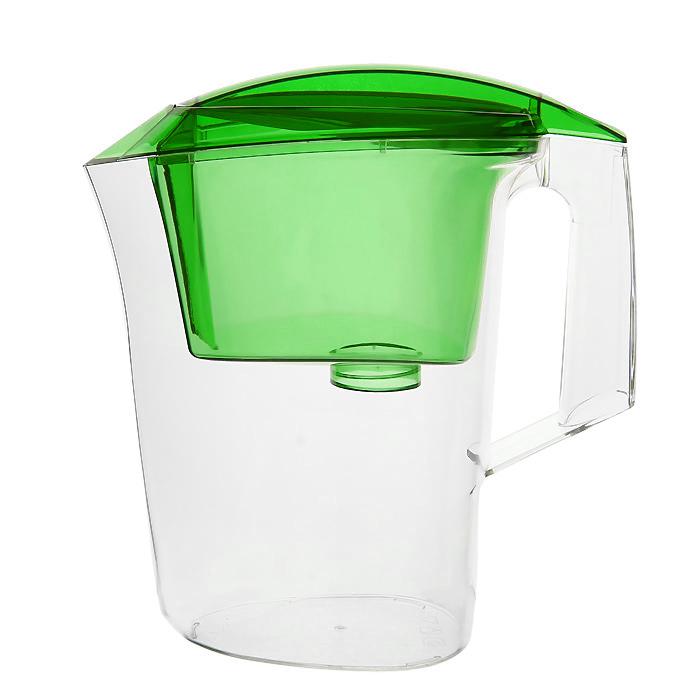 Фильтр-кувшин Гейзер Дельфин, цвет: зеленый