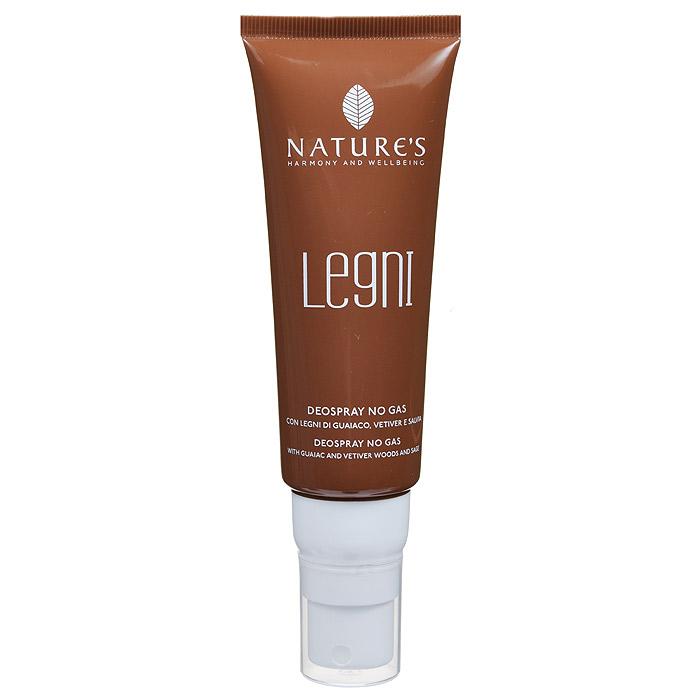 Natures Дезодорант Legni, мужской, 75 мл60190902Дезодорант для тела обеспечивает комфорт и свежесть надолго. Эффективно воздействует на патогенную флору, освежает и дарит ощущение благополучия. Отсутствие спирта, солей алюминия и других антиперспирантных агентов гарантирует идеальное состояние даже самой чувствительной кожи. Не оставляет пятен. Характеристики: Объем: 75 мл. Артикул: 60190902. Производитель: Италия. Товар сертифицирован.