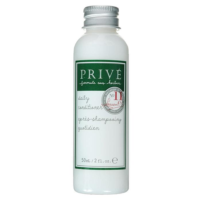Prive Кондиционер для ежедневного ухода за волосами, 50 млPRV4913501Кондиционер Prive делает волосы здоровыми и блестящими, смягчает для лучшего расчёсывания. Ультра-лёгкая формула позволяет ухаживать за волосами ежедневно, делая послушными и не утяжеляя их. Алоэ-вера, экстракт коры дикой вишни и смесь трав прекрасно смягчают и увлажняют волосы. Имеет в составе пантенол. Прекрасно питает волосы, насыщая их протеинами. Сохраняет цвет окрашенных волос.