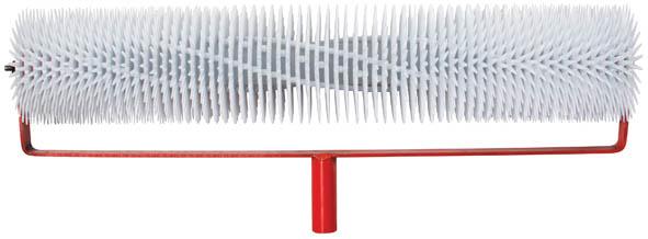 Валик игольчатый Decor Макси, 500 мм04173Валик игольчатый Decor Макси предназначен для наливных полов. Выводит воздух из раствора при заливке полов.