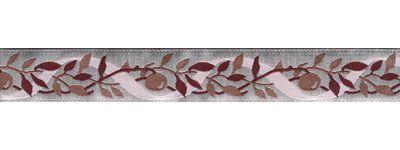 Тесьма декоративная сатиновая Лоза, цвет: серый, бордовый, розовый, 1 м х 20 мм. 35076-0235076-02Тесьма декоративная сатиновая Лоза выполнена из высококачественного 100% полиэстера. На ленте изображены ветки с ягодами. Рисунок выполнен из 100% полиэстера. Тесьма Acufactum ткется на старинных станках с использованием перфокарт, которые изготавливаются для каждого вида тесьмы с тончайшей проработкой самых мелких деталей. Это достаточно долгий и трудоемкий процесс, но результат того стоит! Тесьма наивысшего уровня качества, которая очень практична в использовании т.к. выдерживает стирку при температуре 60 градусов. А изобилие дизайнов просто потрясает!