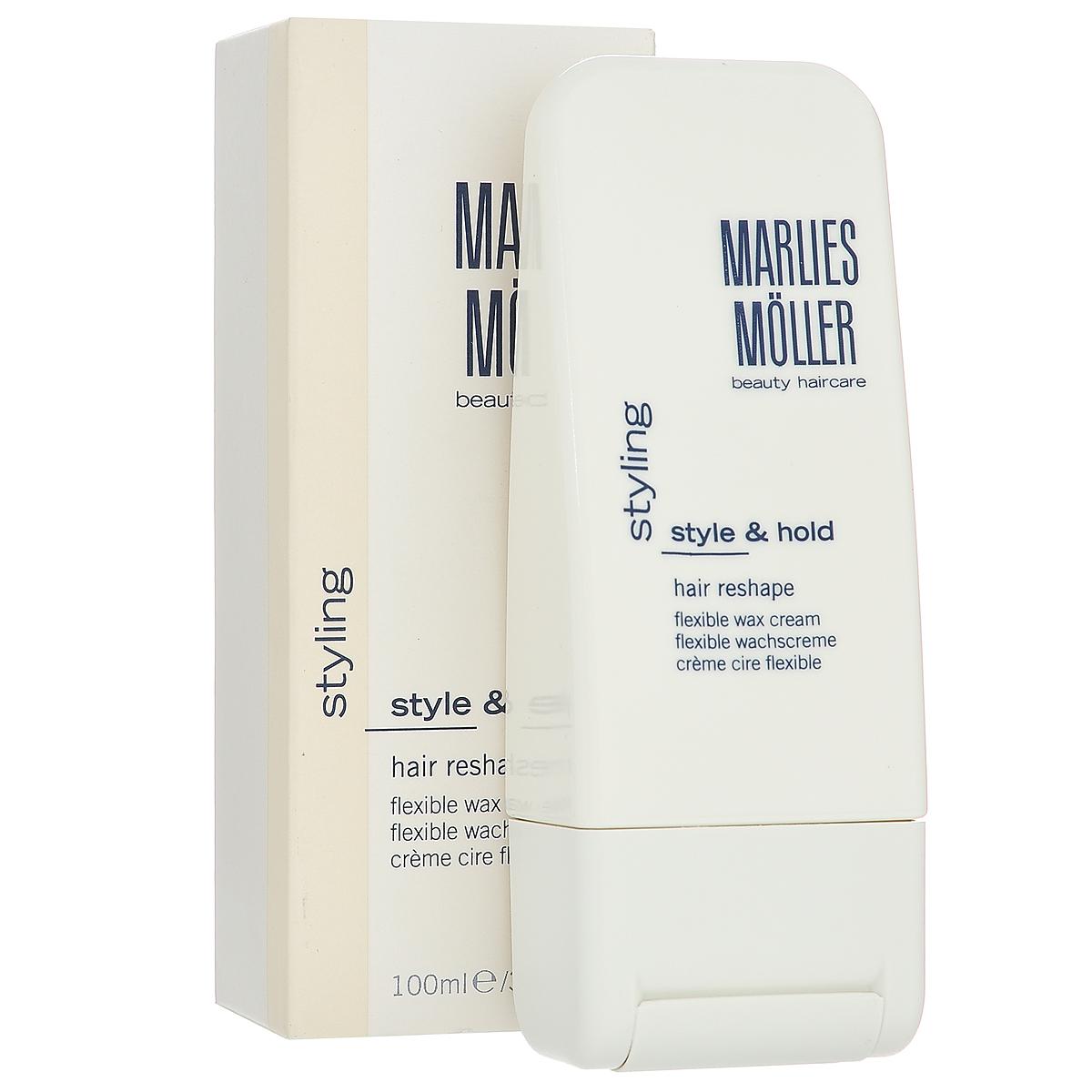 Marlies Moller Воск-крем Styling, для моделирования волос, 100 мл