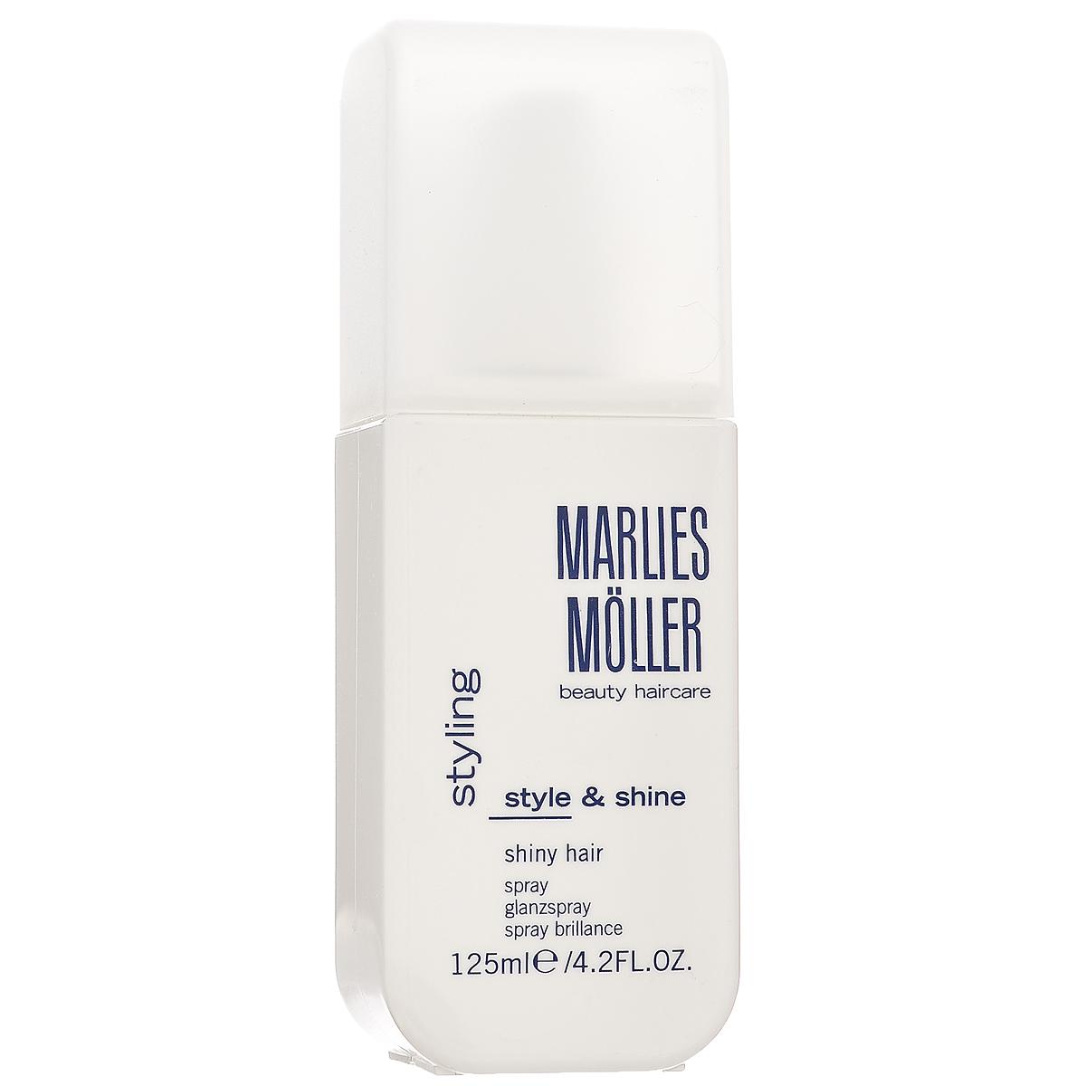 Marlies Moller Спрей Styling, придающий блеск волосам, 125 мл25676MMsУльтралегкий спрей Marlies Moller Styling - финальный штрих вашей укладки. Подходит для всех типов волос и для любой укладки. Придает волосам блеск, здоровый и ухоженный вид. Не утяжеляет волосы. Применение : распылите спрей по всей длине волос в завершении укладки.
