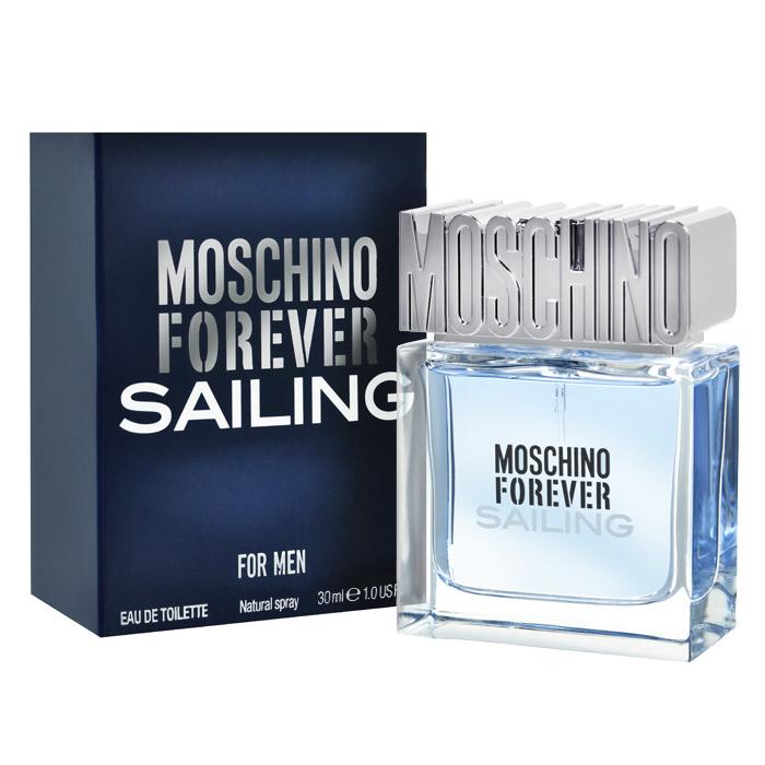 Moschino Туалетная вода Forever Sailing, мужская, 30 мл6N07Moschino Forever Sailing - уникальное сочетание классических нот и ярких оттенков. Аромат вдохновлен хождением под парусами. Свежий как морской бриз, полный энергии и страсти. Для мужчин, которые всегда находятся в движении, исследуют, покоряют. Moschino Forever Sailing продолжает историю успеха первого мужского аромата Moschino Uomo. Аромат отражает силу и индивидуальность современного мужчины. Верхние ноты: Аккорд мятного льда, Лимон первого цветения, Грейпфрут; Средние ноты: Аккорд блю скай, Лаванда, Можжевельник; Базовые ноты: Пачули, Амбровое дерево, Мускус